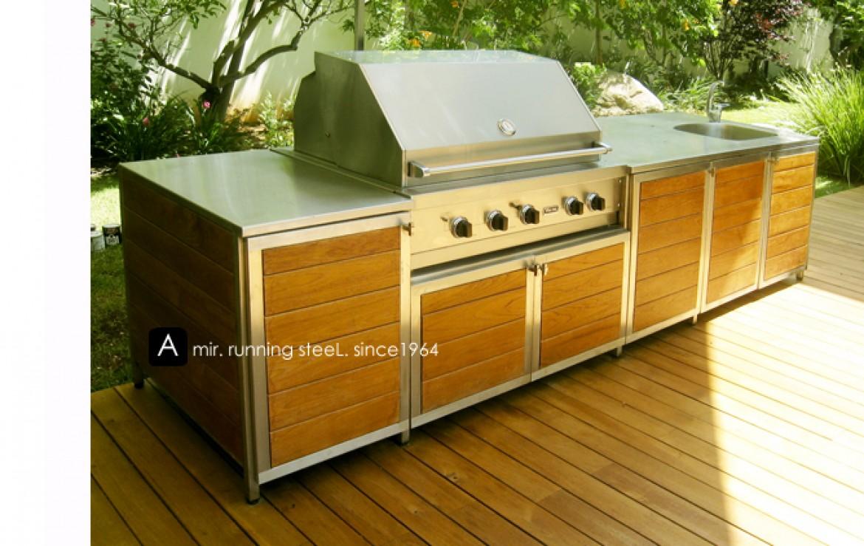 מטבח חוץ - דגם 1